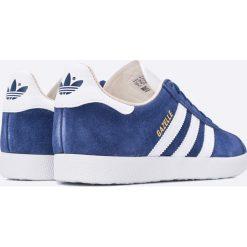 Adidas Originals - Buty Gazelle W. Szare buty sportowe damskie adidas Originals, z materiału. W wyprzedaży za 299,90 zł.