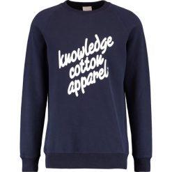 Bejsbolówki męskie: Knowledge Cotton Apparel Bluza total eclipse