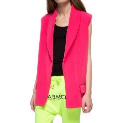 Kamizelki damskie: Kamizelka w kolorze różowym