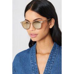 Le Specs Okulary przeciwsłoneczne Bandwagon - Grey. Szare okulary przeciwsłoneczne damskie aviatory Le Specs. W wyprzedaży za 170,07 zł.