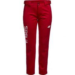 Spodnie dresowe damskie: Spodnie funkcyjne damskie Serbia Pyeongchang 2018 SPDT700 – czerwony wiśniowy