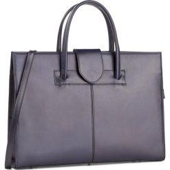 Torebka CREOLE - RBI10171  Granat. Niebieskie torebki klasyczne damskie Creole, ze skóry, duże. W wyprzedaży za 249,00 zł.