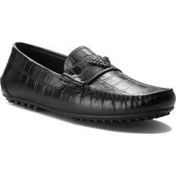 Mokasyny EMPORIO ARMANI - X4B064 XF200 00002 Black. Czarne mokasyny męskie marki Emporio Armani, z materiału. W wyprzedaży za 1339,00 zł.