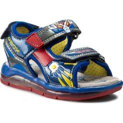 Sandały GEOX - B Sand. Todo B. A B620GA 05415 C0615  Niebieski/Królewski. Niebieskie sandały męskie skórzane marki Geox. W wyprzedaży za 149,00 zł.