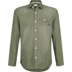 Koszule męskie na spinki: Shine Original Hollis Koszula oliwkowy