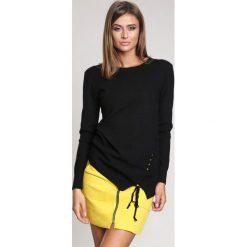 Czarny Sweter Lust For Life. Czarne swetry klasyczne damskie other, na jesień, l. Za 89,99 zł.