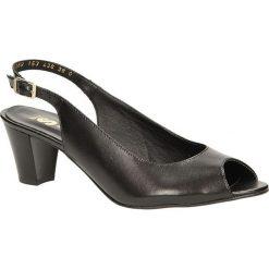 SANDAŁY BUT S U153-AA0-0A. Czarne sandały damskie marki But-s. Za 139,99 zł.
