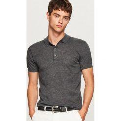 Sweter polo - Szary. Szare swetry klasyczne męskie marki Reserved, l, polo. W wyprzedaży za 39,99 zł.