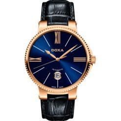 ZEGAREK DOXA II Duca Automatic 130.90.202.03. Niebieskie zegarki męskie DOXA, ze stali. Za 2990,00 zł.