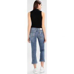 Liu Jo Jeans UP FLY  Jeansy Slim Fit denim blue. Niebieskie boyfriendy damskie Liu Jo Jeans. W wyprzedaży za 719,20 zł.
