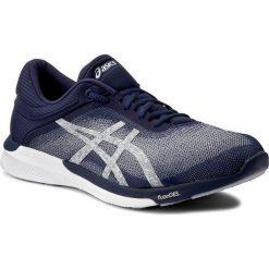 Buty ASICS - FuzeX Rush T718N Indigo Blue/Silver/White 4993. Niebieskie buty sportowe męskie marki Asics, z materiału, do biegania, asics fuzex. W wyprzedaży za 329,00 zł.