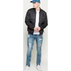 Only & Sons - Jeansy. Niebieskie jeansy męskie slim marki Only & Sons, z bawełny. W wyprzedaży za 99,90 zł.