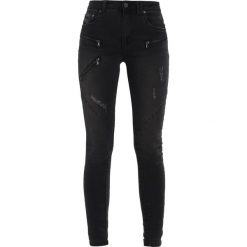Culture ELIA  Jeansy Slim Fit black wash. Czarne rurki damskie Culture. Za 419,00 zł.
