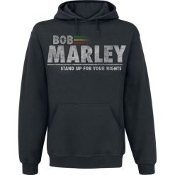 Bluzy męskie: Bob Marley Stand Up For Your Rights Bluza z kapturem czarny