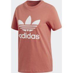 Adidas Koszulka damska Originals Treofil czerwona r. 34 (CV9890). Czerwone bluzki damskie Adidas. Za 107,72 zł.