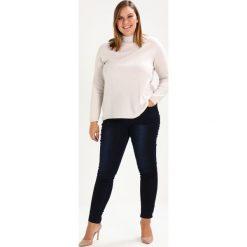 City Chic JEAN ASHA SK Jeans Skinny Fit dark denim. Niebieskie jeansy damskie marki City Chic, z bawełny. W wyprzedaży za 208,45 zł.