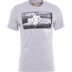 T-shirty męskie z nadrukiem: Barbour International™ RACING Tshirt z nadrukiem grey
