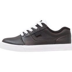 DC Shoes TONIK SE Tenisówki i Trampki black/white. Czarne tenisówki męskie DC Shoes, z materiału. Za 259,00 zł.