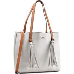 Torebka NOBO - NBAG-E1850-C019 Szary. Szare torebki klasyczne damskie Nobo, ze skóry ekologicznej. W wyprzedaży za 139,00 zł.