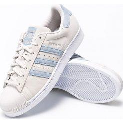 Adidas Originals - Buty Superstar. Szare buty skate męskie adidas Originals, z materiału. W wyprzedaży za 269,90 zł.