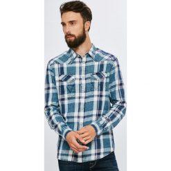 Wrangler - Koszula. Szare koszule męskie na spinki marki House, l, z bawełny. Za 279,90 zł.