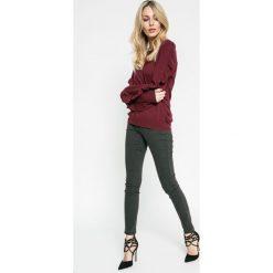 Noisy May - Jeansy. Szare jeansy damskie rurki marki Noisy May. W wyprzedaży za 69,90 zł.