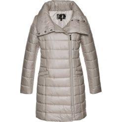 Płaszcze damskie pastelowe: Płaszcz pikowany bonprix kamienisty
