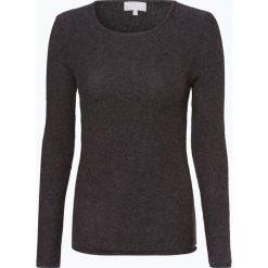 Marie Lund - Sweter damski z czystego kaszmiru, szary. Szare swetry klasyczne damskie Marie Lund, l, z dzianiny. Za 579,95 zł.