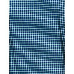 KOSZULA MĘSKA W KRATĘ Z DŁUGIM RĘKAWEM K423 - GRANATOWA/ZIELONA. Brązowe koszule męskie na spinki marki Ombre Clothing, m, z aplikacjami, z kontrastowym kołnierzykiem, z długim rękawem. Za 49,00 zł.