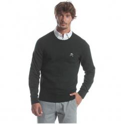 Polo Club C.H..A Sweter Męski Xxl Ciemnozielony. Czarne swetry klasyczne męskie marki Polo Club C.H..A, m, z okrągłym kołnierzem. W wyprzedaży za 239,00 zł.