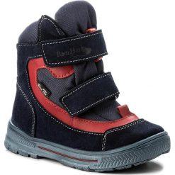 Buty zimowe chłopięce: Śniegowce RENBUT – 22-3171 Granat