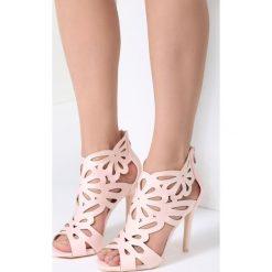 Różowe Sandały Sweet Sweet. Czerwone rzymianki damskie vices, na wysokim obcasie. Za 99,99 zł.