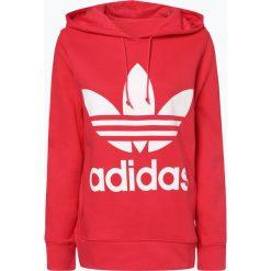 Adidas Originals - Damska bluza nierozpinana, różowy. Szare bluzy z kapturem damskie marki adidas Originals, na co dzień, z nadrukiem, z bawełny, casualowe, z okrągłym kołnierzem, proste. Za 309,95 zł.