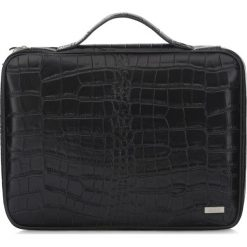 Pokrowiec na laptopa 15''. Czarne walizki Ochnik, ze skóry. Za 299,90 zł.
