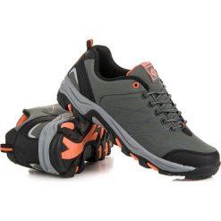 Buty trekkingowe damskie: Niskie buty trekkingowe AX BOXING odcienie szarości i srebra