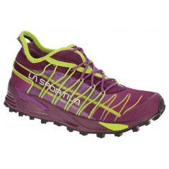 La Sportiva Buty Do Biegania Damskie Mutant Woman Plum/Apple Green 37. Zielone buty do biegania damskie La Sportiva. Za 575,00 zł.