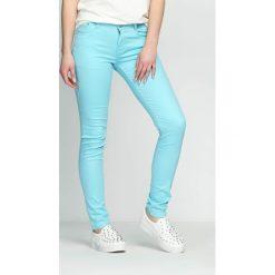 Spodnie damskie: Niebieskie Spodnie Pretty Tale