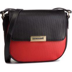 Torebka MONNARI - BAG2820-005 Red Witch Black. Czarne listonoszki damskie Monnari, ze skóry ekologicznej. W wyprzedaży za 169,00 zł.