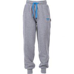Chinosy chłopięce: Hi-tec Spodnie  juniorskie Mili Jr Grey Melange/methyl Blue r. 134