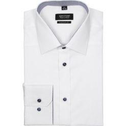 Koszula bexley 2274 długi rękaw custom fit biały. Szare koszule męskie na spinki marki Recman, na lato, l, w kratkę, button down, z krótkim rękawem. Za 139,00 zł.