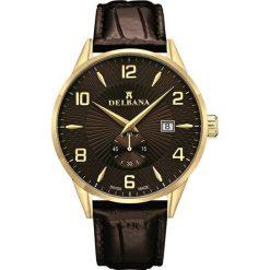 Zegarki męskie: Zegarek męski Delbana Retro 42601.622.6.104