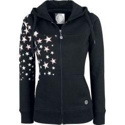 Bluzy rozpinane damskie: RED by EMP Stars Rising Hoodie Jacket Bluza z kapturem damska czarny