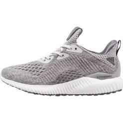 Adidas Performance ALPHABOUNCE EM  Obuwie do biegania treningowe grey five/grey two/footwear white. Brązowe buty do biegania damskie marki adidas Performance, z gumy. W wyprzedaży za 208,45 zł.