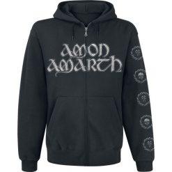 Amon Amarth Skullship Bluza z kapturem rozpinana czarny. Czarne bluzy męskie rozpinane Amon Amarth, xl, z nadrukiem, z kapturem. Za 199,90 zł.