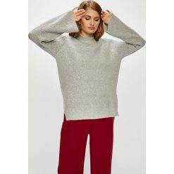 Answear - Sweter. Szare swetry klasyczne damskie ANSWEAR, l, z dzianiny. W wyprzedaży za 79,90 zł.