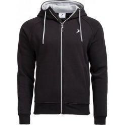 Bluza męska BLM601 - CZARNY - Outhorn. Czarne bluzy męskie rozpinane Outhorn, na jesień, m, z materiału. W wyprzedaży za 62,99 zł.
