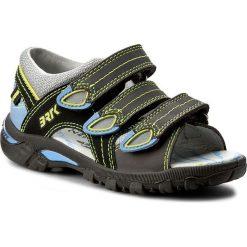 Sandały BARTEK - 16106-J12 Szary. Szare sandały męskie skórzane Bartek. W wyprzedaży za 169,00 zł.