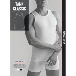 GATTA Koszulka męska Seamless Cotton Tank Classic 7S White r. S. Koszulki sportowe męskie Gatta, m. Za 47,37 zł.