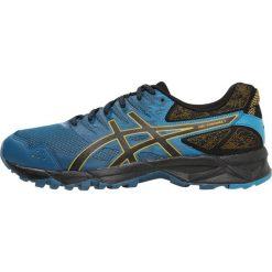 ASICS GELSONOMA 3 Obuwie do biegania Szlak ink blue/black/lemon curry. Niebieskie buty do biegania męskie Asics, z materiału. Za 349,00 zł.