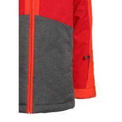 Ziener ABORO JUN  Kurtka narciarska grey iron melange. Szare kurtki chłopięce sportowe marki Ziener, z materiału. W wyprzedaży za 383,20 zł.